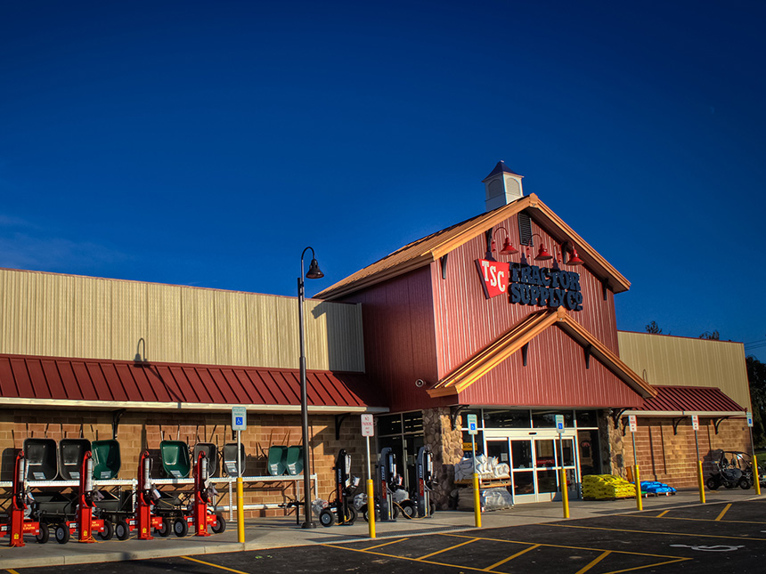 Tractor Supply Smith Associates Architecture Architects