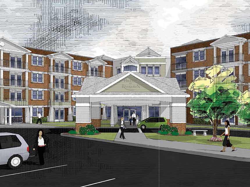 Living communities smith associates architecture for Architects rochester ny