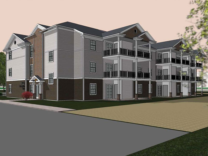 Conifer village smith associates architecture architects for Residential architects rochester ny