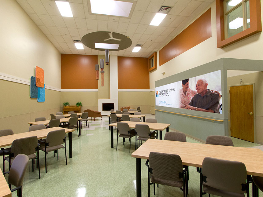 Adult day care smith associates architecture architects for Residential architects rochester ny
