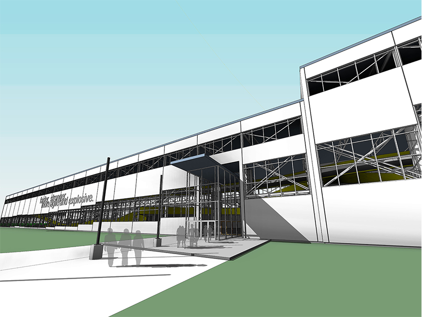Sports park smith associates architecture architects for Architects rochester ny