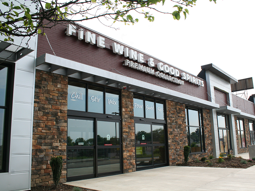 Five Guys And Liquor Store Smith Associates Architecture
