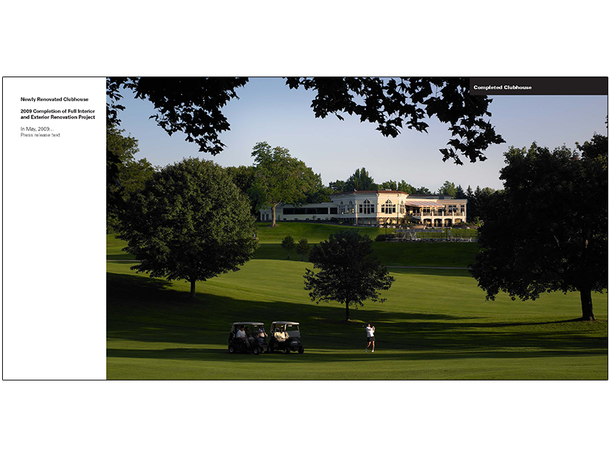 Innovation Series: Irondequoit Country Club Image