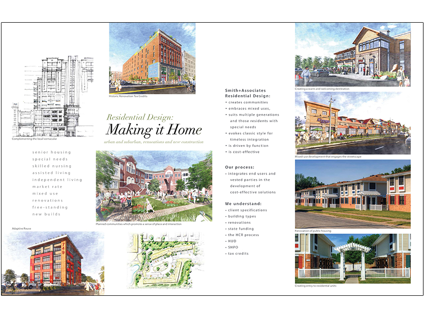 Residential and mixed use smith associates architecture for Residential architects rochester ny